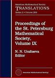 Proceedings of the St. Petersburg Mathematical Society, , 0821834053