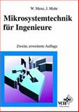 Mikrosystemtechnik Fur Ingenieure, Menz, 3527294058