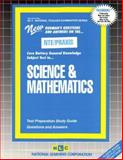 Science and Mathematics, Rudman, Jack, 0837384052