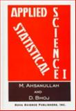 Applied Statistical Science, M. Ahsanullah, 1560724056