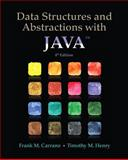 Data Structures and Abstractions with Java, Carrano, Frank M. and Henry, Timothy, 0133744051