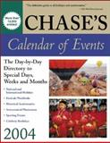 Chase's Calendar of Events 2004, Chase's Calendar of Events Editors, 0071424059