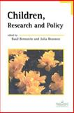 Children, Research and Policy, , 0748404066