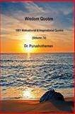 Wisdom Quotes (Volume 74), Purushothaman Kollam, 1499274068