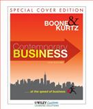Contemporary Business 14E for Western District, Boone, Louis E. and Kurtz, David L., 1118114078