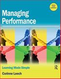 Managing Performance : Learning Made Simple, Leech, Corinne, 0750684070
