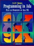 Programming in Ada Plus : An Overview of Ada 9X, Barnes, John G., 0201624079