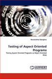 Testing of Aspect Oriented Programs, Konstantina Georgieva, 3838334086
