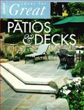 Ideas for Great Patios and Decks, Sunset Publishing Staff, 0376014083