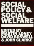 Social Policy and Social Welfare, , 0335104088