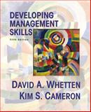 Developing Management Skills, Whetten and Cameron, Kim S., 0130914088