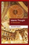 Islamic Thought, Abdullah Saeed, 0415364086