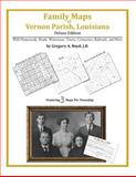 Family Maps of Vernon Parish, Louisiana, Deluxe Edition : With Homesteads, Roads, Waterways, Towns, Cemeteries, Railroads, and More, Boyd, Gregory A., 1420314092