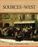 Sources of the West Vol. 2 : Reading in Western Civilization - From 1600 to the Present, Gordon, Ira J. and Breivogel, William F., 0205054099