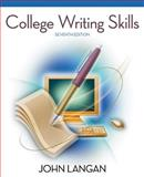College Writing Skills, Langan, John, 0073384097