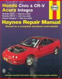 Honda Civic and CR-V, Acura Integra, 1994-2000 9781563924095