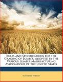 Rules and Specifications for the Grading of Lumber, Elmer Reed Hodson, 1141864096