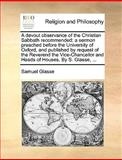 A Devout Observance of the Christian Sabbath Recommended, Samuel Glasse, 1140844091