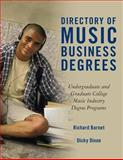 Directory of Music Business Degrees, Richard Barnet and Dicky Dixon, 1495984109