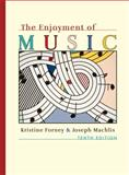 Enjoyment of Music 10E + Student DVD, Forney, Kristine and Machlis, Joseph, 0393174107