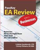 PassKey EA Review, Part 2 : Businesses, IRS Enrolled Agent Exam Study Guide 2011-2012 Edition, Pinheiro, Christy and Szymborski, Collette, 1935664107