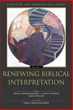 Renewing Biblical Interpretation, Karl M?ller, 0310234115