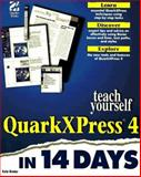 Teach Yourself QuarkXPress 4 in 14 Days, Al Gibbs and Kate Binder, 1568304110