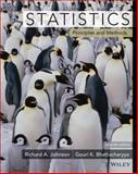 Statistics : Principles and Methods, Bhattacharyya, Gouri K. and Johnson, Richard A., 0470904119