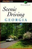 Scenic Driving Georgia, Donald W. Pfitzer and LeRoy Powell, 1560444118