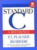Standard C, Plauger, P. L. and Brodie, Jim, 0134364112