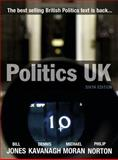 Politics UK, Jones, Bill and Kavanagh, Dennis, 1405824115