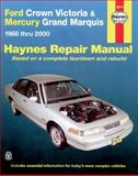 Ford Crown Victoria and Mercury Grand Marquis, 1988-2000, Mark Ryan and J. H. Haynes, 1563924110