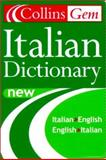 Collins Gem Italian Dictionary, HarperCollins Publishers Ltd. Staff, 0004724119