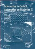 Informatics in Control, Automation and Robotics II 9789048174126