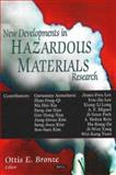 What's New in Hazardous Materials Research, Bronze, Ottis E., 1600214126