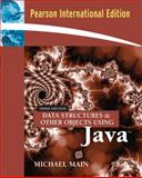 Data Structures and Other Objects Using Java, Main, Michael, 0321364120