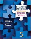 Research Methods for the Behavioral Sciences, Gravetter, Frederick J. and Forzano, Lori-Ann B., 1305104137