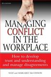 Managing Conflict in the Workplace, Shay McConnon and Margaret McConnon, 1845284135