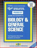 Biology and General Science, Rudman, Jack, 0837384133