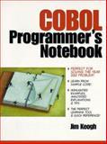 COBOL Programmer's Notebook, Keogh, Jim, 0139774149