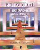 Introduction to Behavioral Research Methods 5th Edition