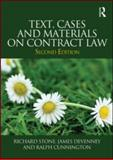 Text, Cases and Materials on Contract Law, Stone, Richard and Devenney, James, 0415594146