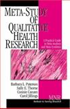 Meta-Study of Qualitative Health Research : A Practical Guide to Meta-Analysis and Meta-Synthesis, Barbara L. Paterson, Sally E. Thorne, Connie Canam, Carol Jillings, 0761924140