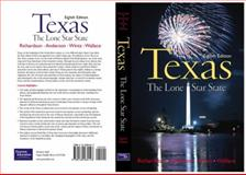 Texas : The Lone Star State, Richardson, Rupert N. and Anderson, Adrian N., 0130284149