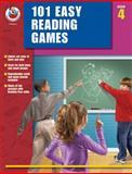 101 Easy Reading Games, Grade 4, Carson-Dellosa Publishing Staff, 076823414X