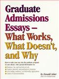 Graduate Essays, Donald Asher, 0898154146