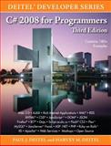 C# 2008 for Programmers, Deitel, Harvey M. and Deitel, Paul J., 0137144156