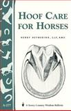 Hoof Care for Horses, Henry Heymering, 1580174159
