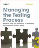 Managing the Testing Process 3rd Edition