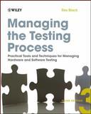 Managing the Testing Process, Rex Black, 0470404159